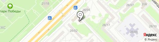 Прага на карте Набережных Челнов