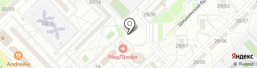 Яблоко на карте Набережных Челнов