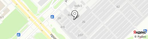 Достояние на карте Набережных Челнов