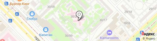 Диагностический кабинет на карте Набережных Челнов