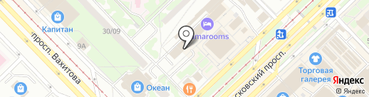 Экспресс Гарант на карте Набережных Челнов