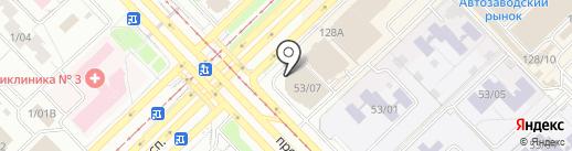 SLAФ на карте Набережных Челнов