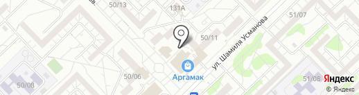 Мясной мини-маркет на карте Набережных Челнов