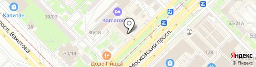 Домовой на карте Набережных Челнов