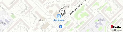 Сеть сырных лавок на карте Набережных Челнов