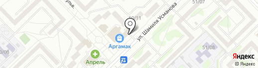 Лавка гончара на карте Набережных Челнов