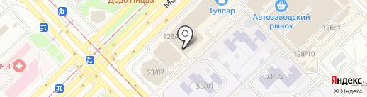 Ринаэль на карте Набережных Челнов