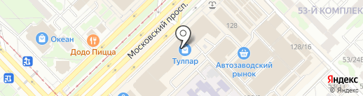 Магазин бижутерии на карте Набережных Челнов