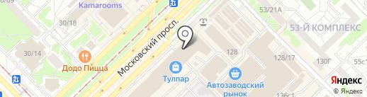 Почта банк, ПАО на карте Набережных Челнов