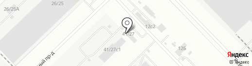 Синтех на карте Набережных Челнов