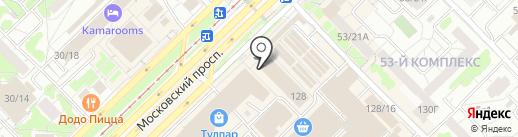 Славянский мир на карте Набережных Челнов