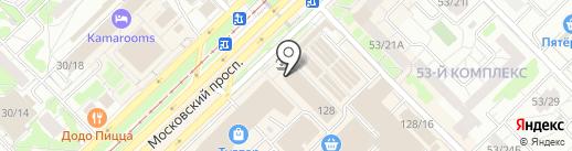Орхидея на карте Набережных Челнов