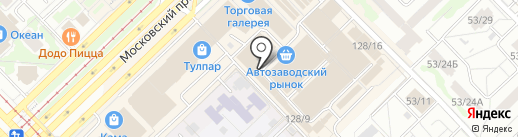 Аранчини на карте Набережных Челнов