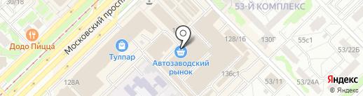 ПРОСТО МОЛОКО на карте Набережных Челнов