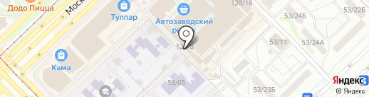 Мебель-Уют на карте Набережных Челнов