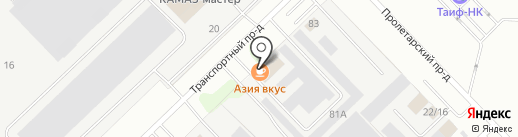 СпецТехКама-1 на карте Набережных Челнов