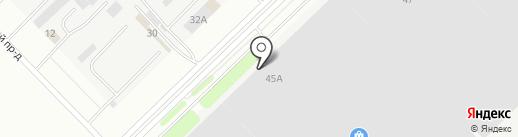 Палитра-ТЕК на карте Набережных Челнов