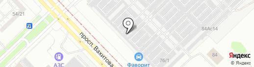 Атермал на карте Набережных Челнов