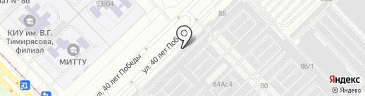 Уютный двор на карте Набережных Челнов