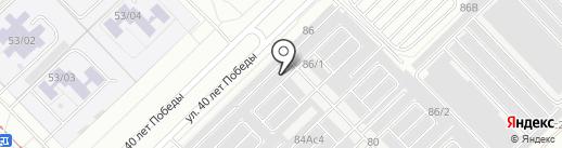 Автомастерская на карте Набережных Челнов