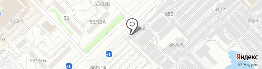 Сабантуй на карте Набережных Челнов