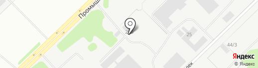 ТрансМеталл на карте Набережных Челнов