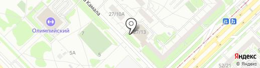 Выйти из комнаты на карте Набережных Челнов