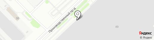 УРАЛТЕХСТАЛЬ на карте Набережных Челнов