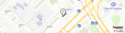 Микс на карте Набережных Челнов