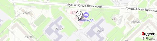 ИНТРИ на карте Набережных Челнов