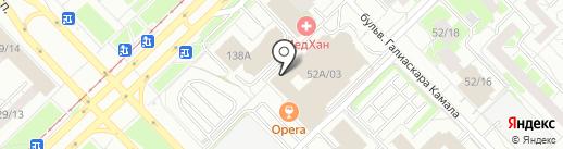 ГРИС на карте Набережных Челнов