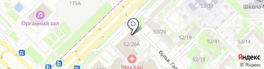 Евростиль на карте Набережных Челнов