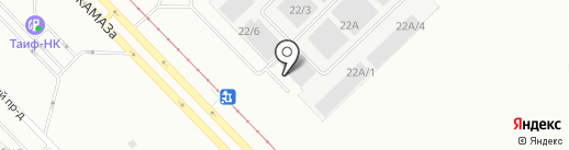 САМ 24 на карте Набережных Челнов