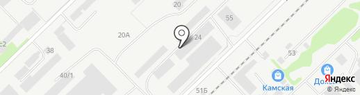 Строй на карте Набережных Челнов