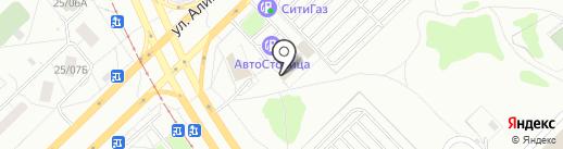 Автомагазин на карте Набережных Челнов