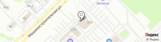 Бренд-ателье Игоря Козлова на карте Набережных Челнов