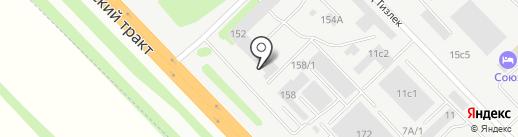 АНТЭЙ на карте Набережных Челнов