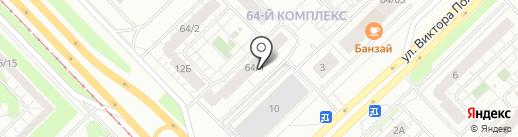Комфортное жилье на карте Набережных Челнов
