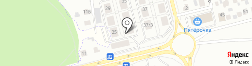 Тепло в дом на карте Набережных Челнов