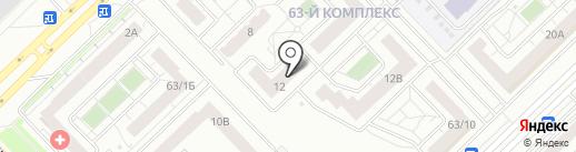 ДОМКОР на карте Набережных Челнов