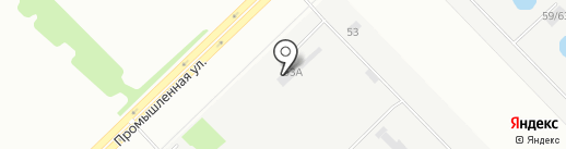 Техсервис на карте Набережных Челнов