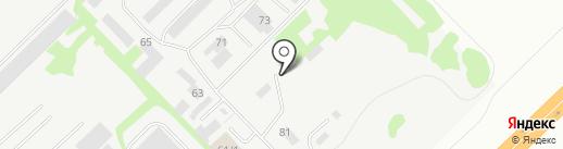 Лит-Фалько на карте Набережных Челнов