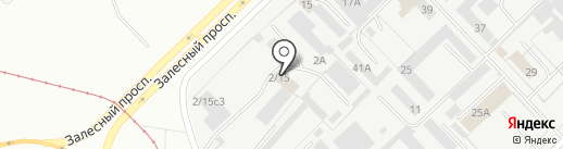 Эколайт-Геотехника на карте Набережных Челнов