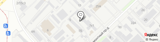 КТРЛ на карте Набережных Челнов