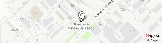 КАМСКИЙ ФИЛЬТР на карте Набережных Челнов