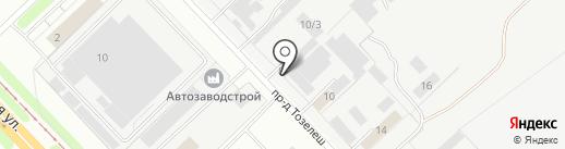 КамСтан на карте Набережных Челнов