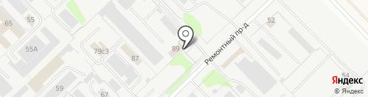Челны-Носок на карте Набережных Челнов