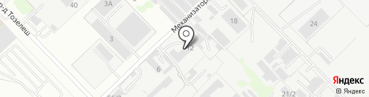 Фирма на карте Набережных Челнов