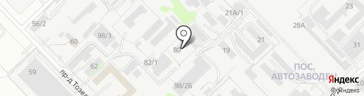Тадж на карте Набережных Челнов