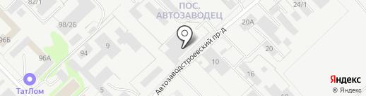 СпецИндустрия на карте Набережных Челнов